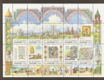Stamps of the world : Russia :  850 Aniv. fundación de Moscú