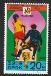 Stamps North Korea -  Mundial de fútbol Francia 1938