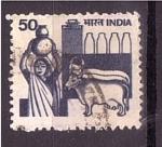 Sellos del Mundo : Asia : India : Ciencia y agricúltura