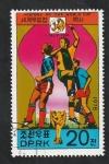 Stamps North Korea -  Mundial de fútbol Italia 1934