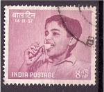 Stamps : Asia : India :  serie- Derechos basicos de los niños