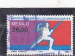 Sellos del Mundo : America : México :  OLIMPIADA DE LOS ANGELES'84