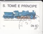 Stamps : Africa : São_Tomé_and_Príncipe :  TREN-COMBOY ANTIGUO DE BOHEMIA
