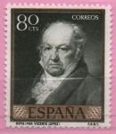 Stamps Spain -  Goya (Vicente Lopez)