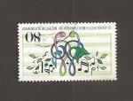 Stamps Germany -  125 Aniv. de la sociedad coral