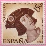 Stamps Spain -  Retrato d´Strigel