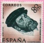 Sellos de Europa - España -  Retrato d´Ticiano