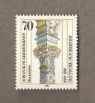 Stamps Germany -  Dominkus Zimmermann, Constructor
