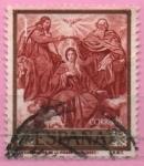 Stamps : Europe : Spain :  Coronacion d´l´Virjen