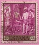 Stamps : Europe : Spain :  La Fragua d´Volcano