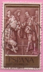 Stamps Spain -  Paz en los pirineos (Felipe IV y Luis XIV)