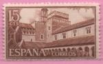 Sellos de Europa - España -  Monasterio d´N.S.d´Guadalupe