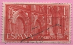 Stamps Spain -  Monasterio d´N.S.d´Guadalupe