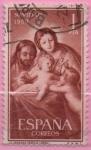 Sellos del Mundo : Europa : España : Navidad (Sagrada Familia)