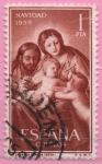 Stamps : Europe : Spain :  Navidad (Sagrada Familia)