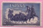 Sellos de Europa - España -  Fiesta Nacional Tauromaquia (Toros en el Campo)