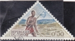 Stamps : Africa : Republic_of_the_Congo :  CARTERO INDIGENA