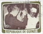 Sellos del Mundo : Africa : Guinea : AFRICA EN MARCHA