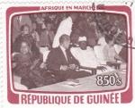 Stamps Guinea -  AFRICA EN MARCHA