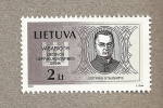 Stamps Europe - Lithuania -  Justinas Staugatis