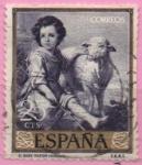 Sellos del Mundo : Europa : España : El Buen pastol