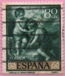 Stamps Spain -  Niño d´l´Concha