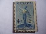 Sellos de America - Canadá -  Citizen-Citoyen - Ciudadanía Canadiense - 800 Aniversario de la Confederación.