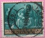 Sellos de Europa - España -  Sagrada Familia d´Pajarito