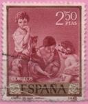 Stamps Spain -  El Juego del Dado