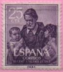 Stamps Spain -  San Vicente d´Paul