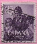 Sellos de Europa - España -  San Vicente d´Paul