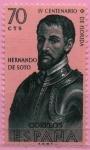 Sellos de Europa - España -  Hernando d´Soto
