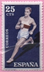 Stamps Spain -  Atletismo