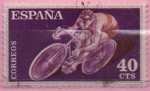 Stamps Spain -  Ciclismo