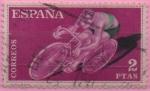 Sellos de Europa - España -  Ciclismo
