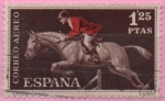 Stamps Spain -  Hipica
