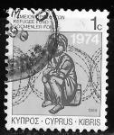 Sellos de Asia - Chipre -  Chipre-cambio
