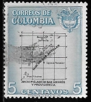 Stamps of the world : Colombia :  Colombia-cambio