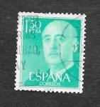 Sellos del Mundo : Europa : España : Francisco Franco Bahamonde