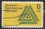 Stamps United States -  807 - 50 Anivº del Servicio de parques nacionales