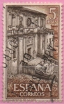 Stamps of the world : Spain :  Real Monasterio d´Somos (Fachada)