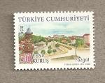 Sellos de Asia - Turquía -  Paisajes de Turquía