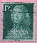Sellos de Europa - España -  Leandro Fernandez d´Moratin