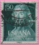 Stamps Spain -  Leandro Fernandez d´Moratin