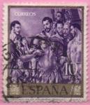 Stamps Spain -  Martirio d´San Mauricio