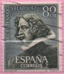 Stamps Spain -  Escultura d´Velazquez