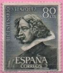 Stamps : Europe : Spain :  Escultura d´Velazquez
