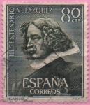 Sellos de Europa - España -  Escultura d´Velazquez