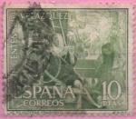 Stamps : Europe : Spain :  Las Hiladeras