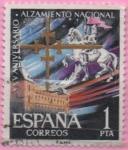 Stamps Spain -  Alcazar d´Toledo